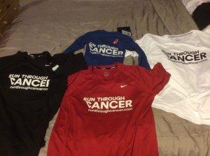 T-shirts arrived